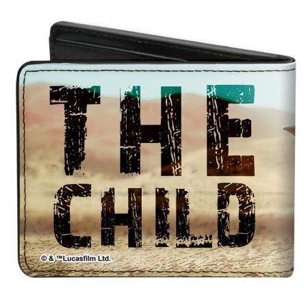 The Mandalorian The Child Scene Vegan Leather Wallet