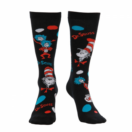 Dr Seuss Cat In The Hat Socks