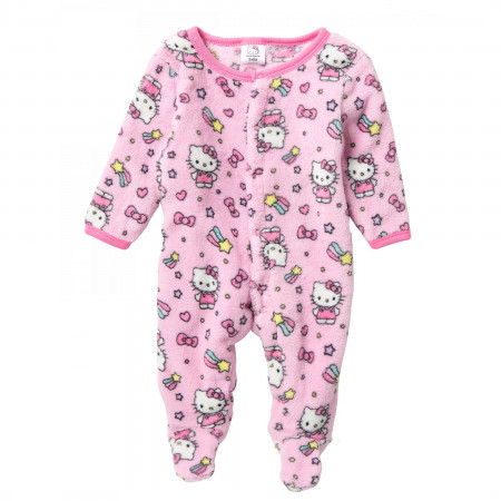 Hello Kitty Baby Footy Pajamas with Fleece Footies