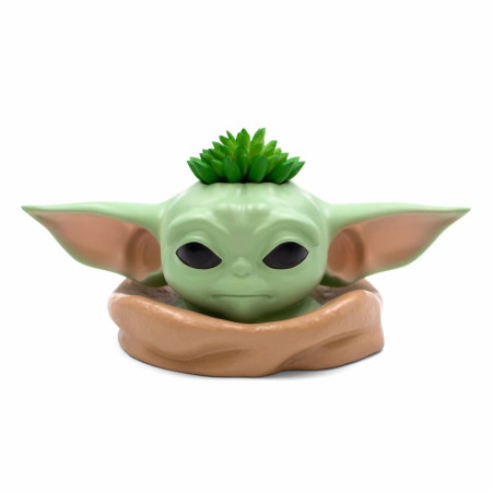 Star Wars The Mandalorian Grogu the Child Character Bust Planter