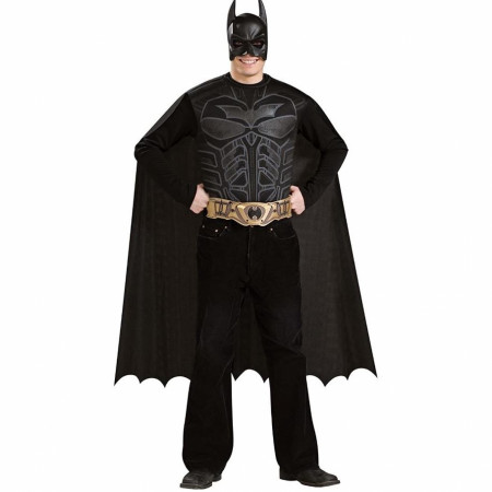 Batman Adult Costume Set - Cape Chest Belt Mask