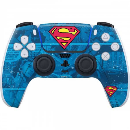Superman Logo PS5 Controller Skin