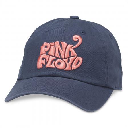 Pink Floyd Retro Style Embroidered Logo Adjustable Hat