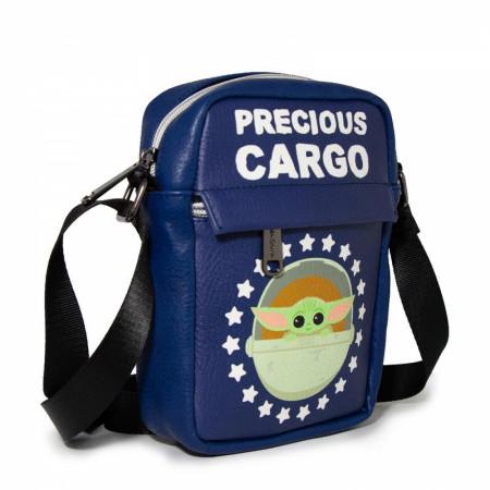 The Mandalorian The Child Precious Cargo Crossbody Vegan Leather Purse
