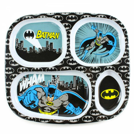 Batman Melamine Divided Plate