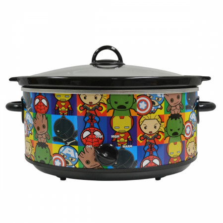 Marvel Kawaii 7-Quart Slow Cooker