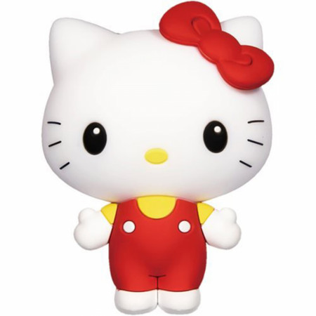 Hello Kitty Kawaii Chibi Character 3D Foam Magnet