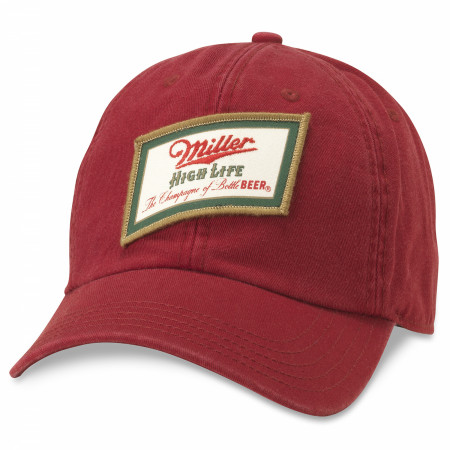 Miller High Life Patch Red Hat