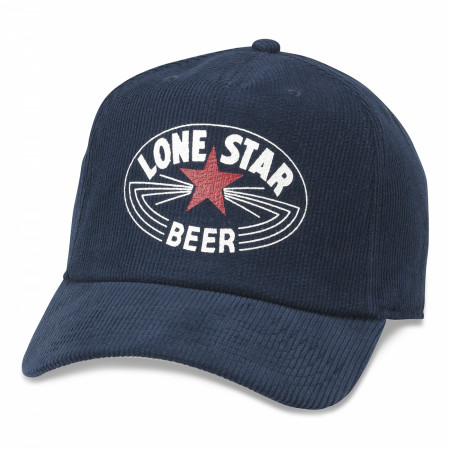 Lone Star Beer Printed Corduroy Hat
