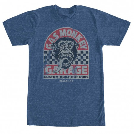 Gas Monkey Garage Qualifier Blue T-Shirt