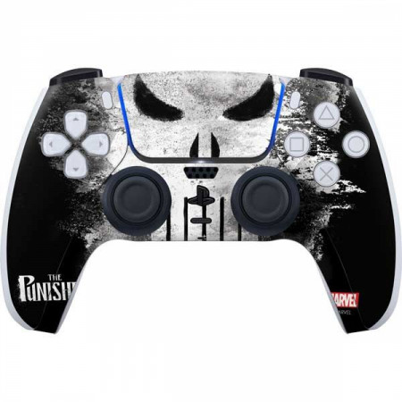 Punisher Long Skull PS5 Controller Skin
