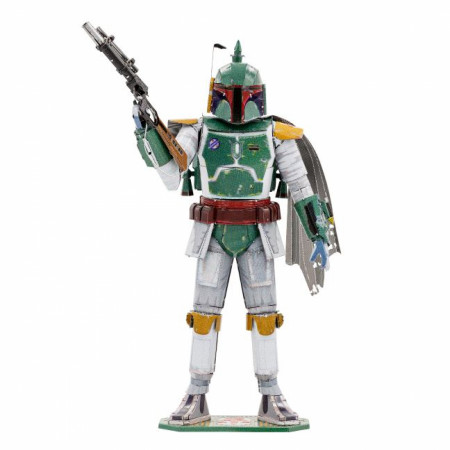 Star Wars Boba Fett Character Premium Color 3D Metal Earth Model Kit