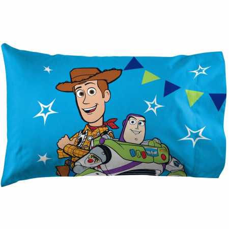 """Toy Story """"Buzz & Woody"""" Pillow Case"""