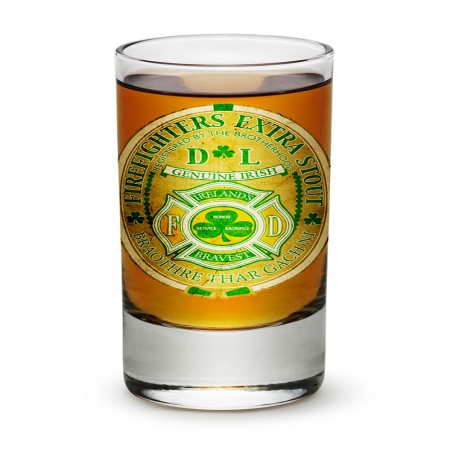 Firefighter Extra Stout Shot Glass