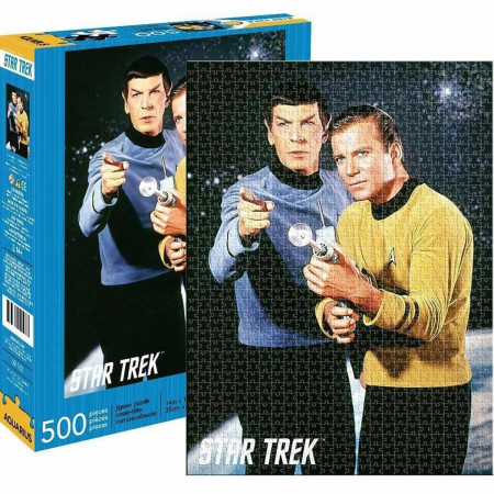 Star Trek Spock and Kirk 500 Piece Jigsaw Puzzle