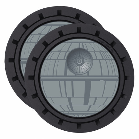 Star Wars Death Star Auto Car Coaster 2pk