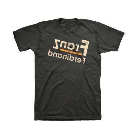 Franz Ferdinand Reverse Logo Fitted T-Shirt
