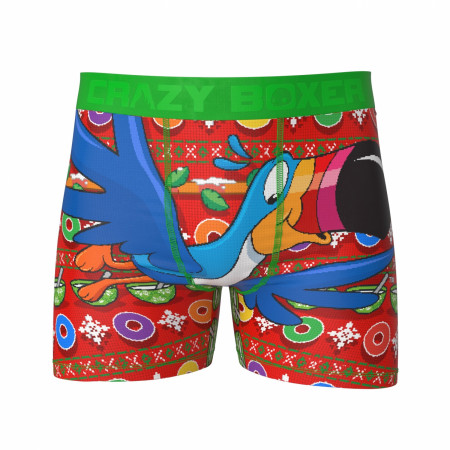 Froot Loops HolidayThemed Boxer Briefs