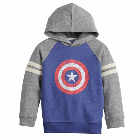 Captain America Shield Symbol Sonoma Good for Life Boys Hoodie