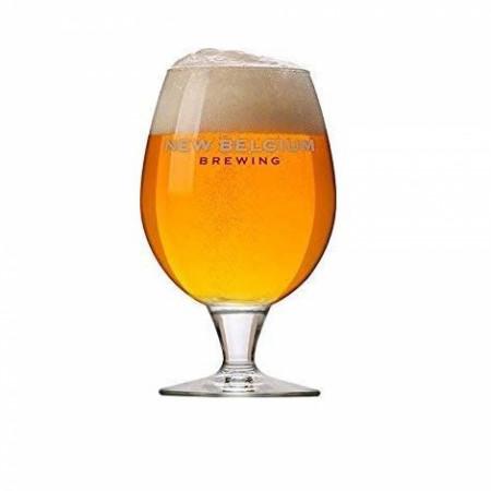 New Belgium Brewing Co. 16oz. Belgian Beer Glass