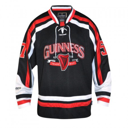 Guinness Red and Black Hockey Jersey