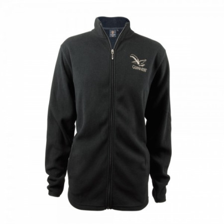 Guinness Toucan Zip Fleece Top