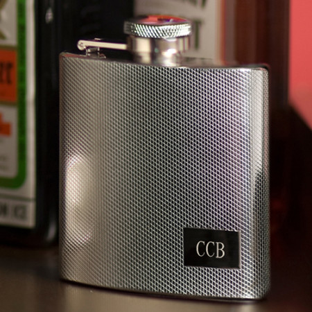 Personalized 4 Ounce Custom Stainless Steel Flask