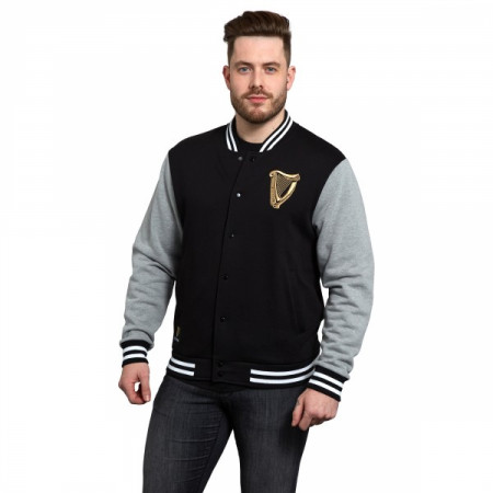 Guinness Harp Letterman Jacket