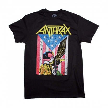Anthrax Dredd Eagle T-Shirt