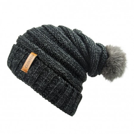 Guinness Grey Slouchy Winter Hat
