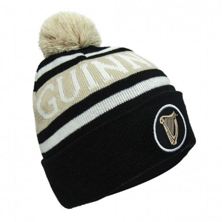 Guinness Premium Black and White Winter Hat