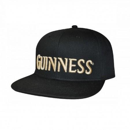 Guinness Black Flat Brim Hat