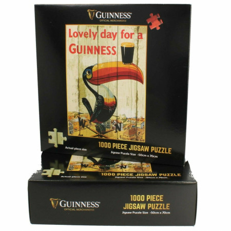 Guinness Toucan Poster 1000 Piece Jigsaw Puzzle