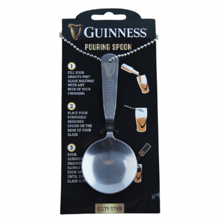 Guinness Harp Pouring Spoon