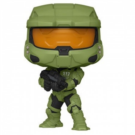 Halo Infinite Master Chief with MA40 Assault Rifle Funko Pop Figure