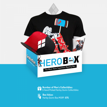 Harley Quinn Classic HeroBox for Men