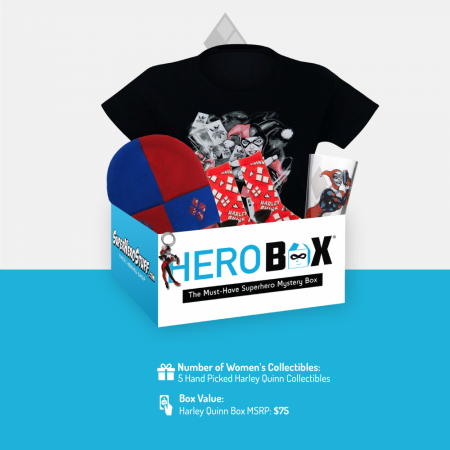 Harley Quinn Classic HeroBox for Women
