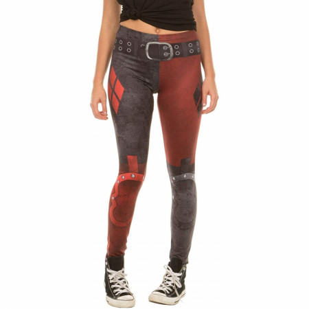 DC Comics Harley Quinn Arkham City Leggings