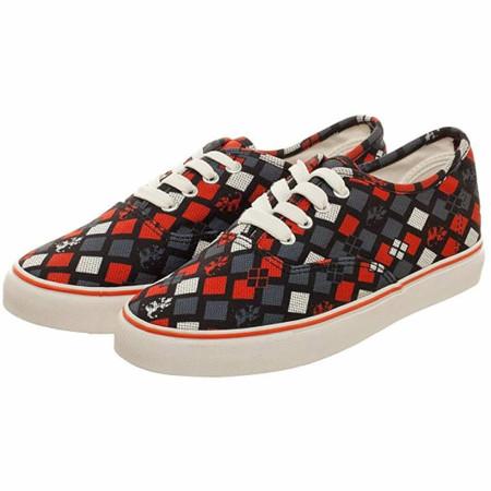 DC Comics Harley Quinn Deck Shoes