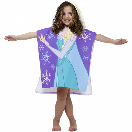 Disney Frozen Princess Elsa Hooded Poncho
