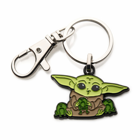 Star Wars The Mandalorian The Child Snack Time Keychain