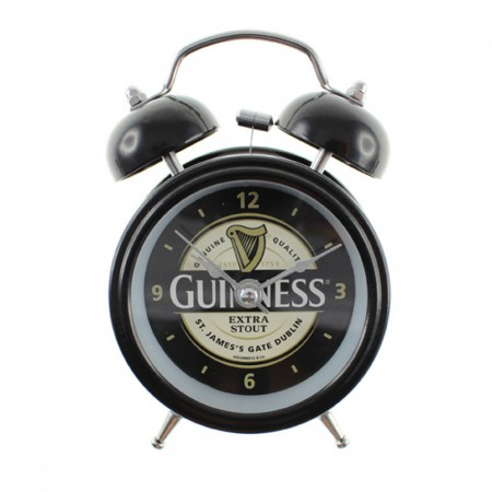 Guinness Extra Stout Label Alarm Clock