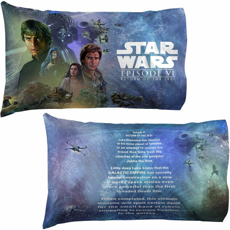 Star Wars Return of the Jedi 2-Pack Back Pillowcase Set