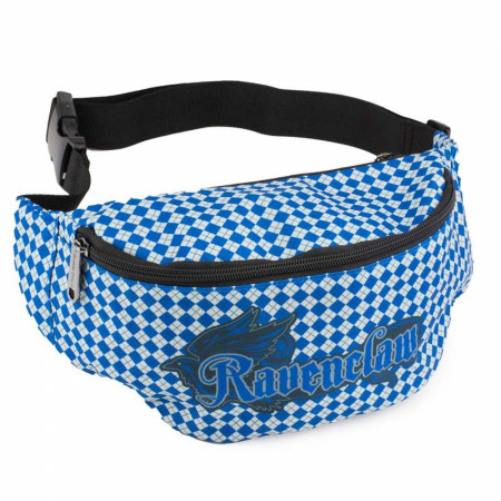 Harry Potter Ravenclaw Eagle with Shield Argyle Fanny Pack