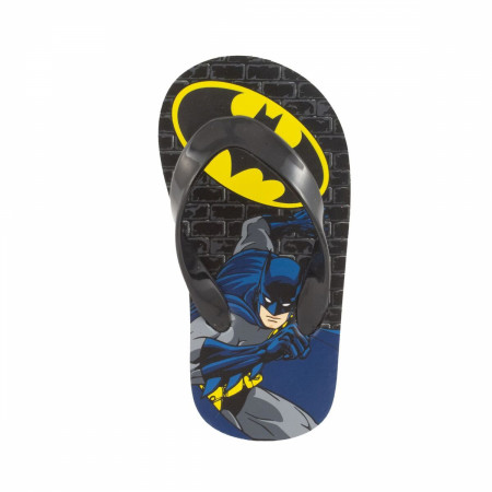 Batman Cartoon Kids Flip Flops