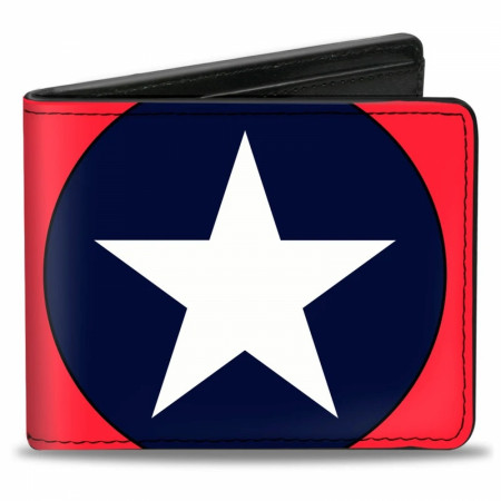 Captain America Star Bi-Fold Wallet