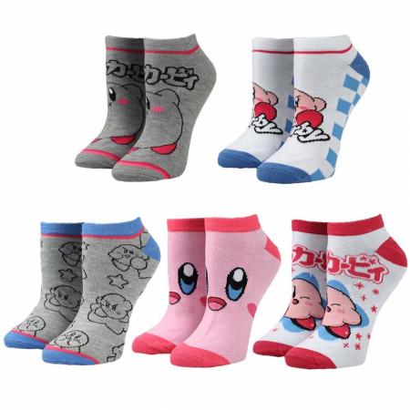 Kirby 5-Pair Pack of Ankle Socks