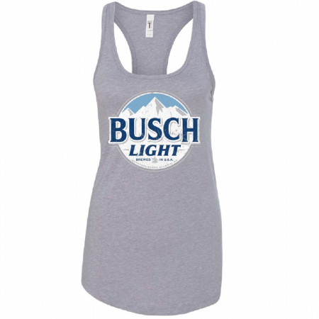 Busch Light Women's Grey Tank Top