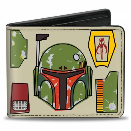 Star Wars Boba Fett Bi-Fold Wallet