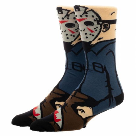 Classic Films Friday the 13th Jason Character Sock